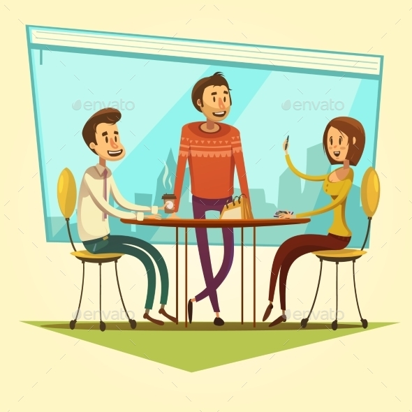Business Meeting Illustration  - Concepts Business