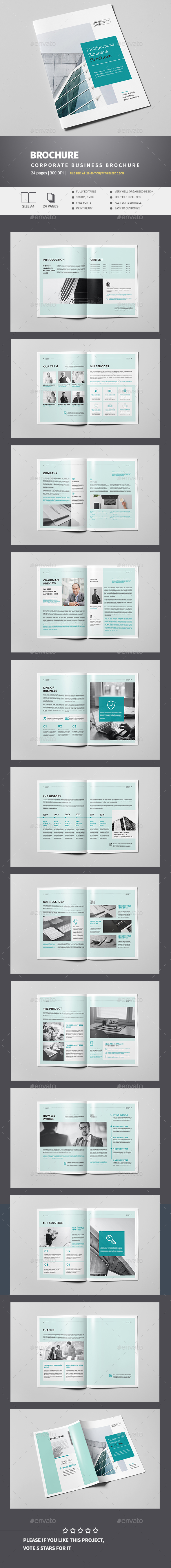 Modern Business Brochure - Corporate Brochures