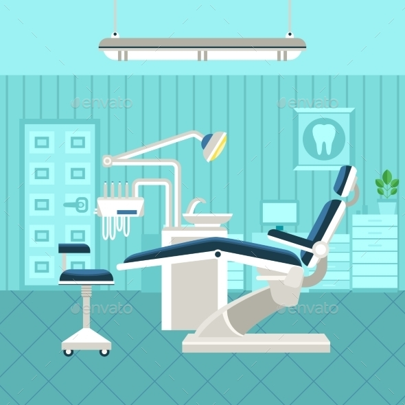 Dental Room Poster - Health/Medicine Conceptual