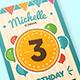 Colorful birthday invitation - GraphicRiver Item for Sale