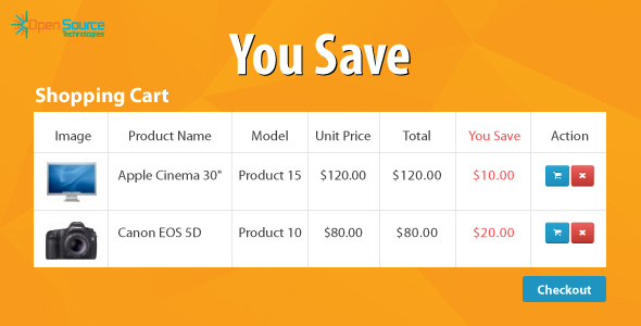 You Save - CodeCanyon Item for Sale