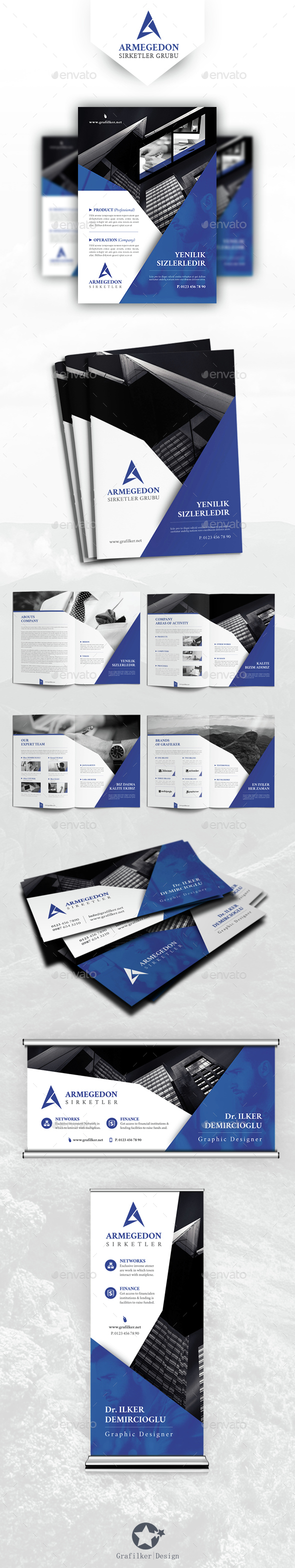 Corporate Business Bundle Templates - Corporate Flyers