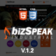 BizSpeak - Responsive Industrial HTML5 Template - ThemeForest Item for Sale