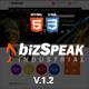 BizSpeak - Responsive Industrial HTML5 Template Nulled