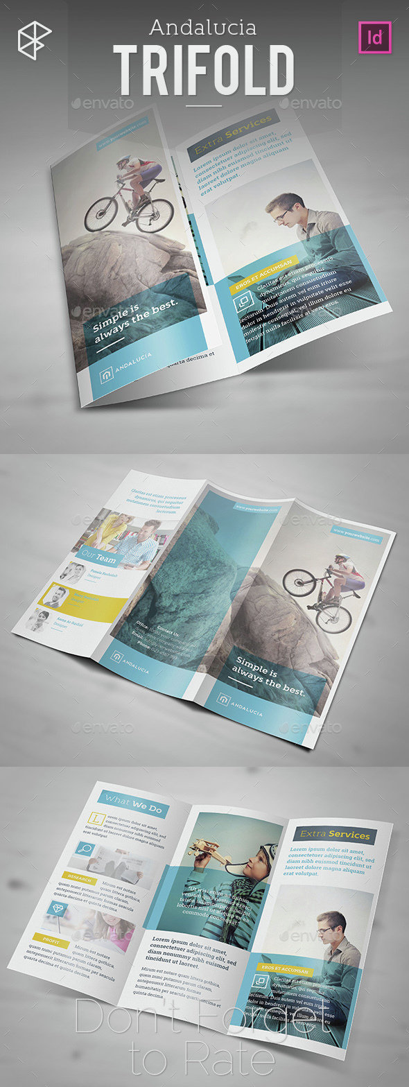 Andalucia Trifold - Corporate Brochures