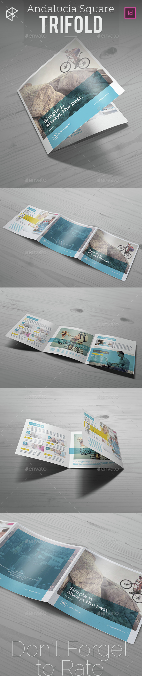 Andalucia Square Trifold - Corporate Brochures