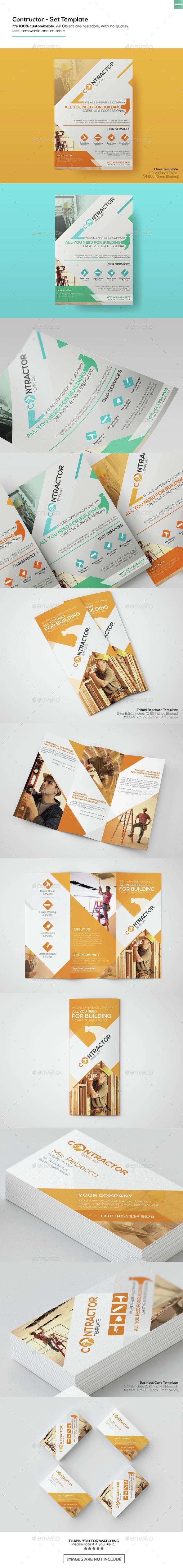 Contractor - Set Templates - Informational Brochures