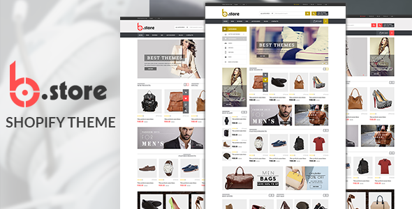 BStore - Responsive eCommerce Shopify Theme - Shopping Shopify