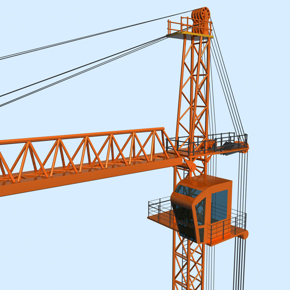 Tower Crane - 3DOcean Item for Sale