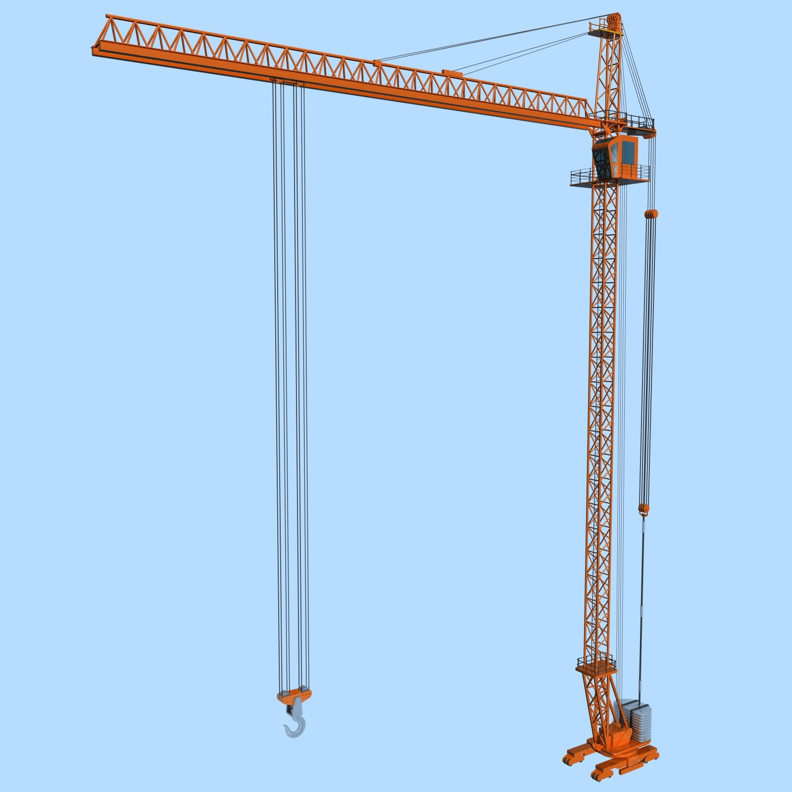 Tower Crane Engine : Tower crane by polygon d docean
