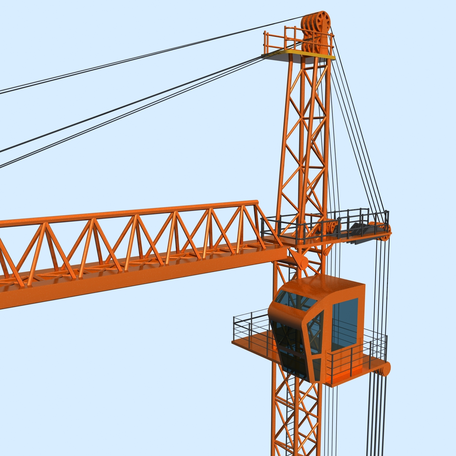 Tower Crane by Polygon3d