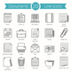 20 Documents Line Icons - GraphicRiver Item for Sale