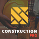 Construction PRO - Building and Renovation Services Construction WordPress Theme