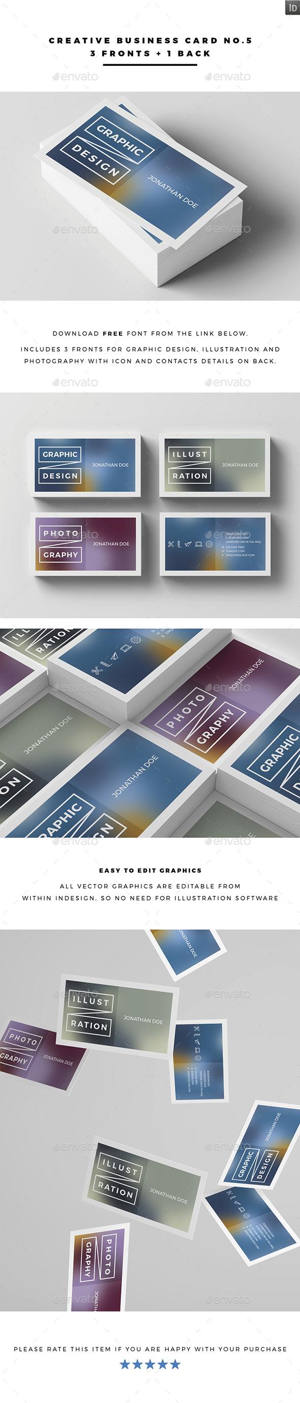 Creative Business Card No.5 - Creative Business Cards