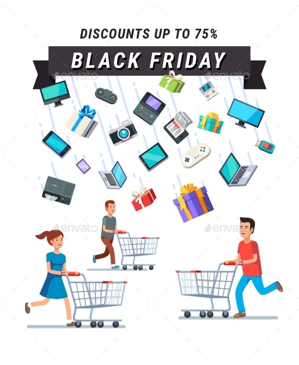 Black Friday Sale Advert Banner - Retail Commercial / Shopping