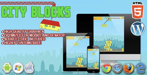 City Blocks HTML5 Game