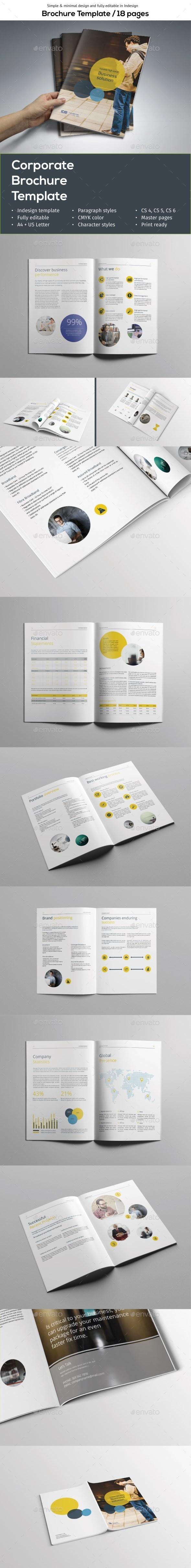 Simple Brochure Template - Corporate Brochures