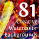 Watercolor Backgrounds Bundle - GraphicRiver Item for Sale