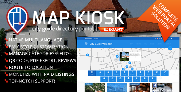 City Guide Directory Portal - CodeCanyon Item for Sale