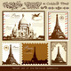 Vector Set: Symbols of Paris - GraphicRiver Item for Sale