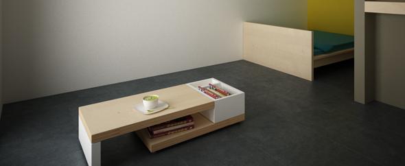 3D Designer Lounge Table - 3DOcean Item for Sale