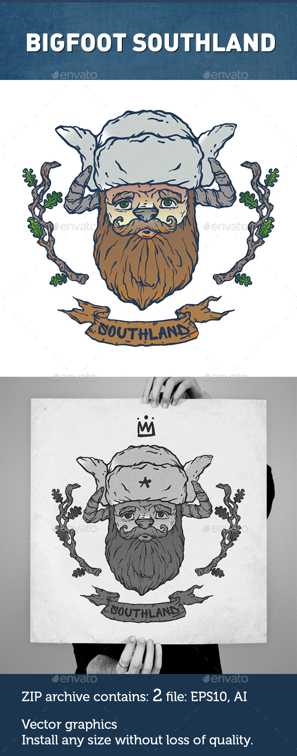 Southland Bigfoot Character - Miscellaneous Characters