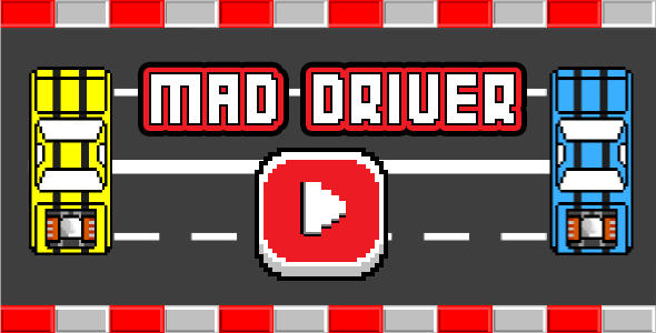 Mad Driver - Html5 Mobile Game - android & ios - CodeCanyon Item for Sale
