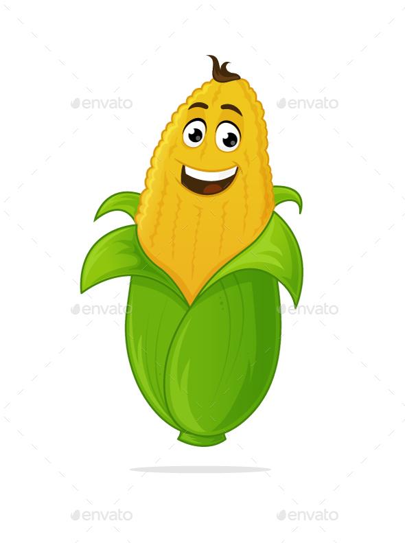 Corn Mascot - Flowers & Plants Nature
