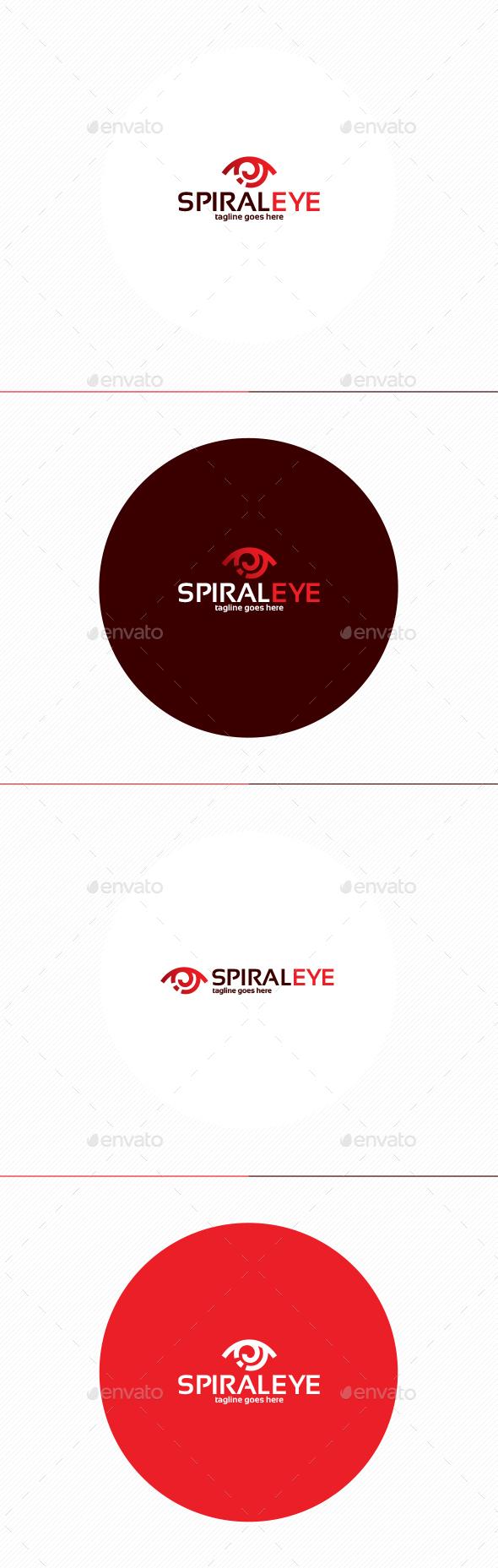 Spiral Eye Logo - Symbols Logo Templates