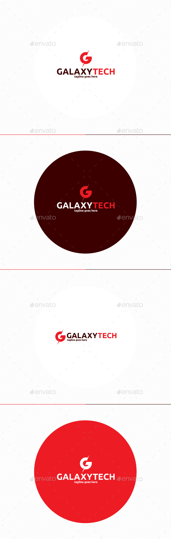 Galaxy Tech Logo • Letter G - Letters Logo Templates