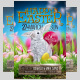 Happy Easter Flyer Template - GraphicRiver Item for Sale