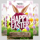 Happy Easter Party Flyer Template  - GraphicRiver Item for Sale