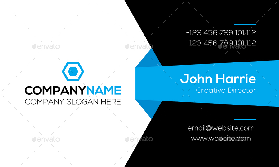 Corporate Business Card by graphiccenter | GraphicRiver