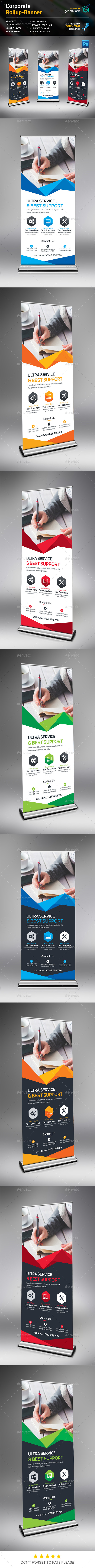 Creative Rollup Banner - Signage Print Templates