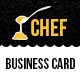 Chef Cafe Business Card - GraphicRiver Item for Sale
