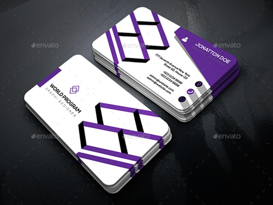 Corporate Business Card Template.304