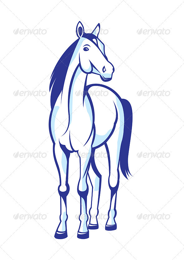 Beautiful Horse - Animals Characters