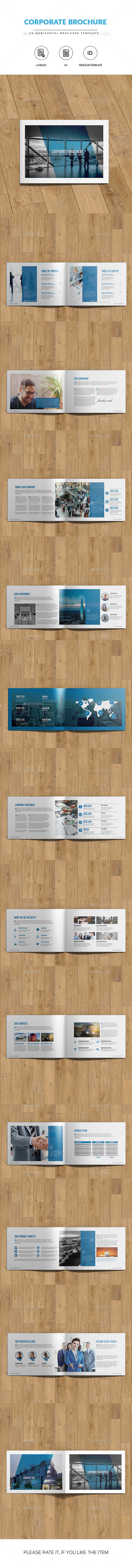 A5 Horizontal Business Brochure - Corporate Brochures