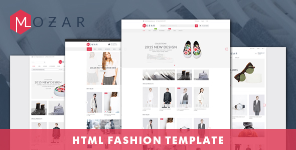 Mozar - Fashion Clothing Bootstrap Template