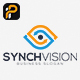 Synch Vision - Eye Logo