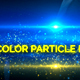 Dual Color Particle Lower Third