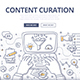 Content Curation Doodle Concept - GraphicRiver Item for Sale