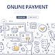 Online Payment Doodle Concept - GraphicRiver Item for Sale