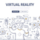 Virtual Reality Doodle Concept - GraphicRiver Item for Sale