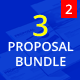 3 Proposal Bundle Template 2 - GraphicRiver Item for Sale