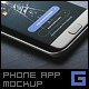Android Phone App Mock-Up - GraphicRiver Item for Sale