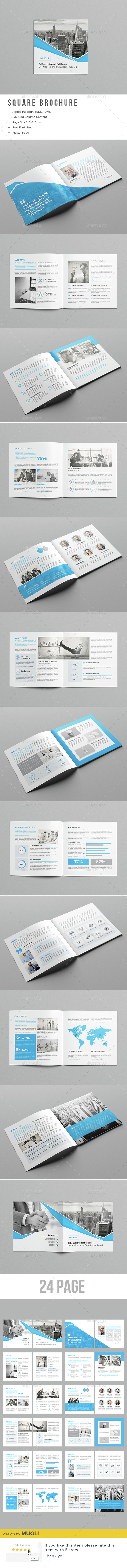 Corporate Square Brochure - Corporate Brochures