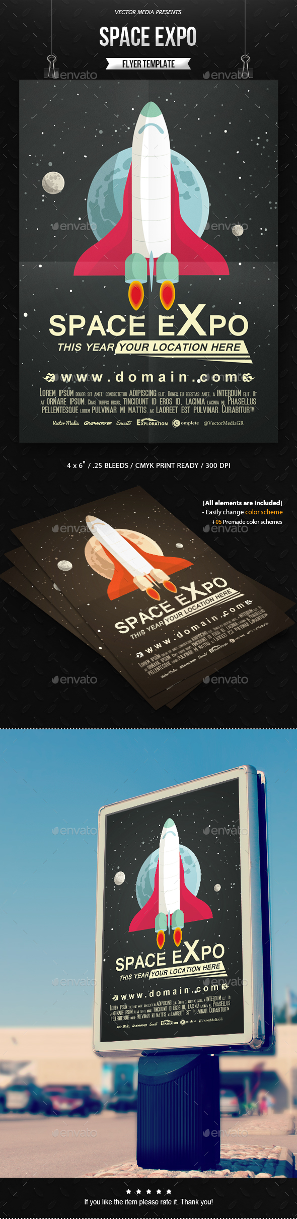 Space Expo - Flyer - Miscellaneous Events