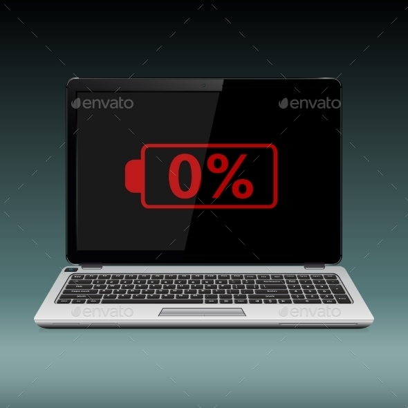 Laptop With Low Battery - Computers Technology