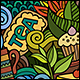 2 Tea Doodles Seamless Pattern - GraphicRiver Item for Sale